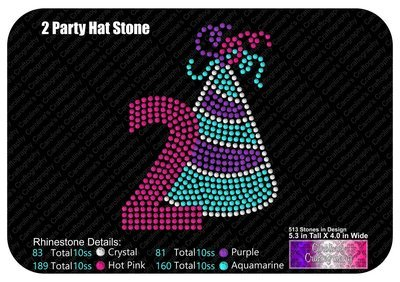 Party Hat Number 2 Stone