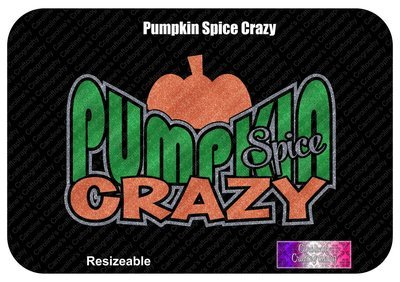 Pumpkin Spice Crazy Vinyl