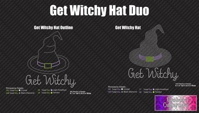 Get Witchy Hat Stone Duo