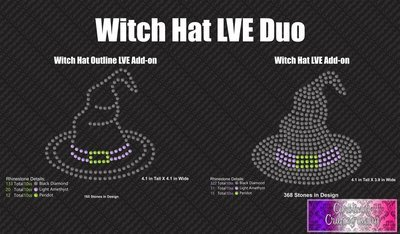 Witchy Hat LVE Add-on Stone Duo