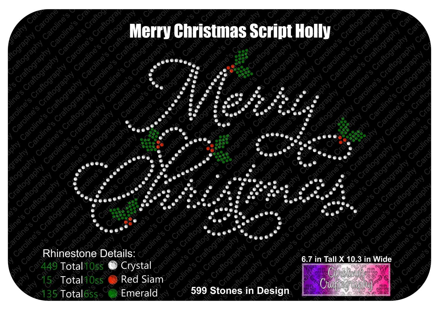 Merry Christmas Script Holly Stone