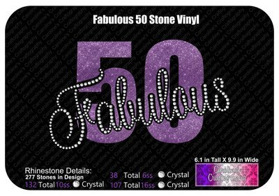 Fabulous Fifty (50) Stone Vinyl