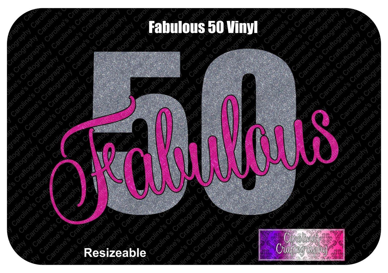Fabulous Fifty (50) Vinyl