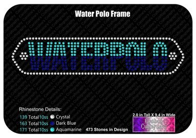 Waterpolo Frame Stone
