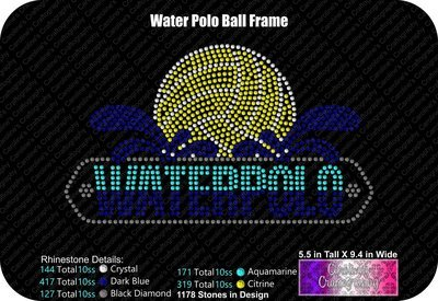 Waterpolo Ball Frame Stone