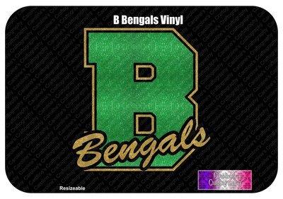 B Bengals Vinyl