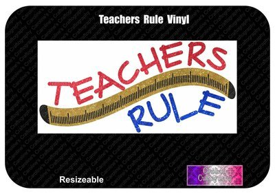 Teachers Rule Vinyl