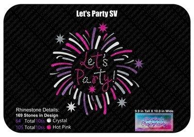 Let's Party Stone Vinyl
