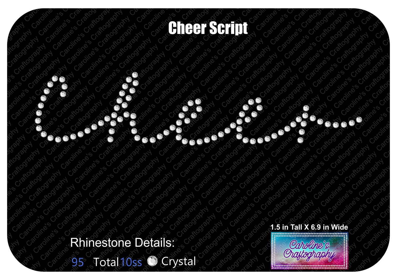 Cheer Script Stone