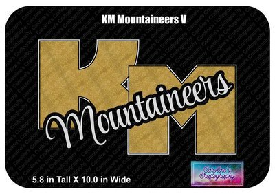KM Mountaineers Vinyl Shirt