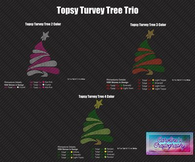 Topsy Turvey Tree Trio