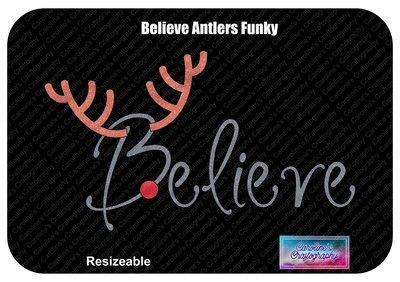 Believe Antlers Funky Red Nose Vinyl