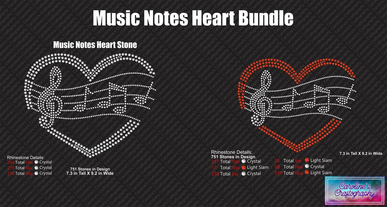 Music hearts Stone Bundle
