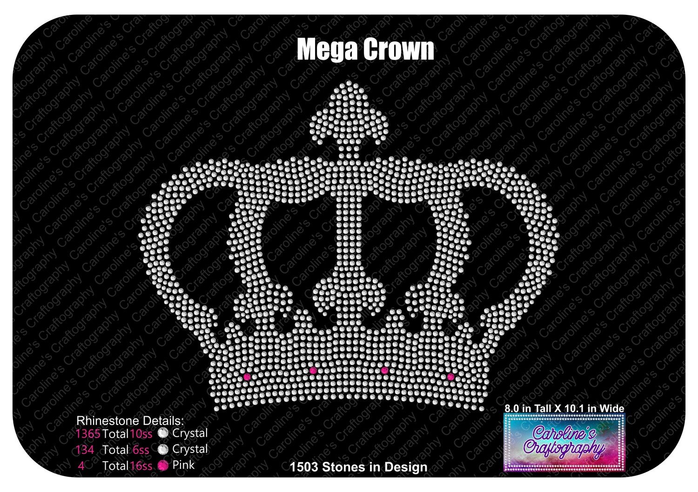 Mega Crown Rhinestone