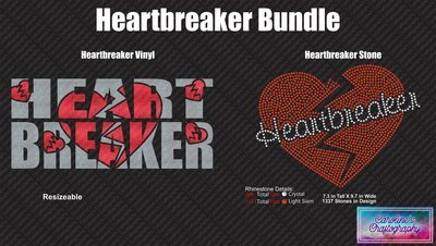 Heartbreaker Bundle (Rhinestone and Vinyl)