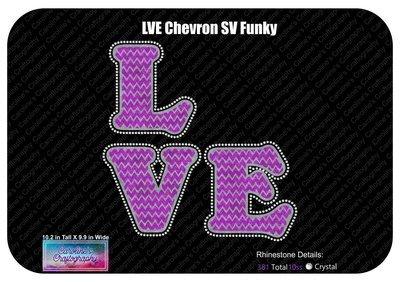 Chevron LVE Stone Vinyl Funky