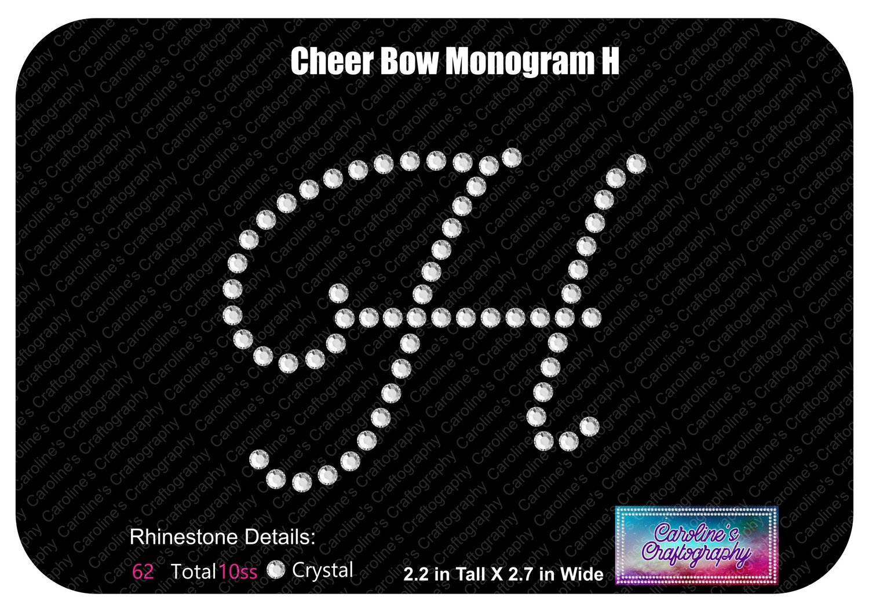 H Monogram Cheer Add-on Stone