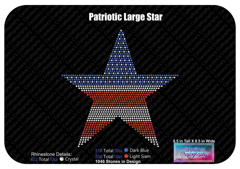 Large Patriotic Star