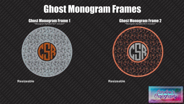 Ghost Monogram Frames Duo Vinyl