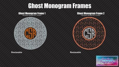 Ghost Monogram Frames Duo Vinyl