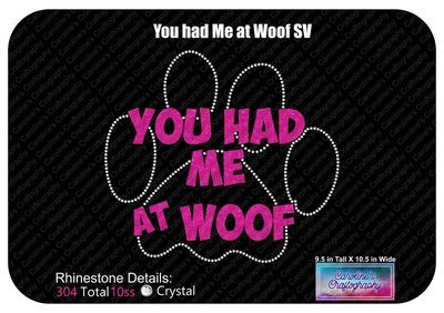 You had me at woof Stone Vinyl