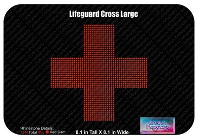 Lifeguard Cross Large