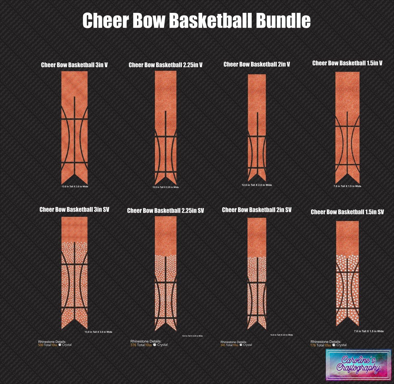 Cheer Bow Basketball Bundle