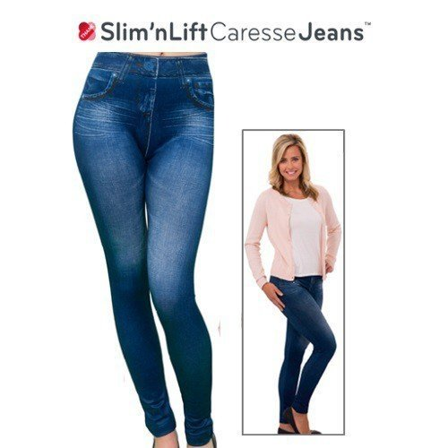Slim 'n Lift Caresse™ jeans Bleu