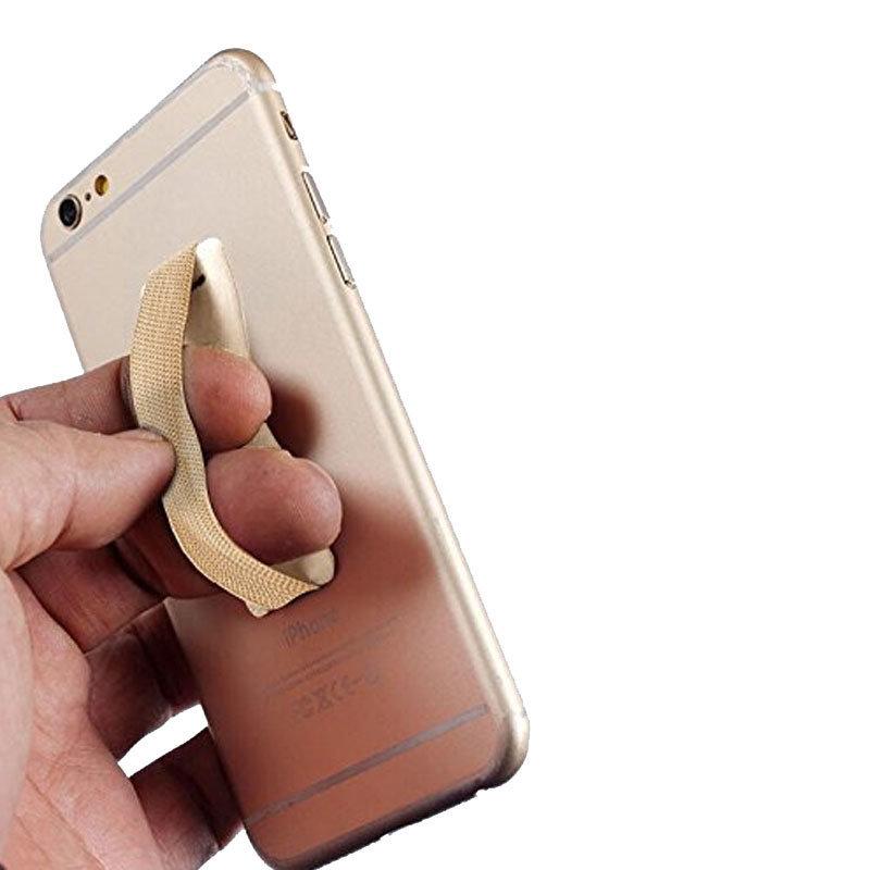 Support élastique sécurisé pour smartphones & tablettes - Gold