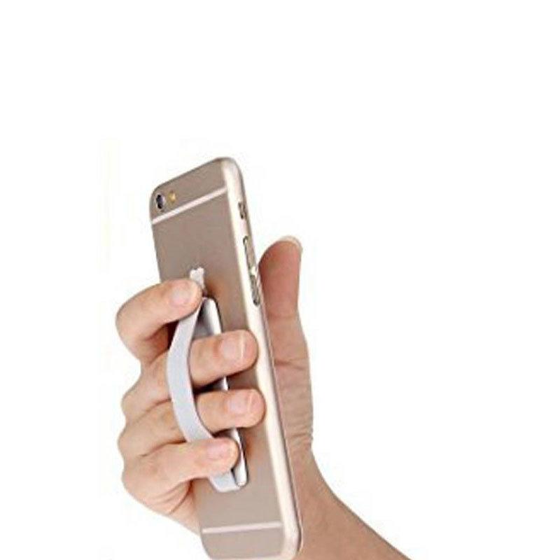 Support élastique sécurisé pour smartphones & tablettes - Silver