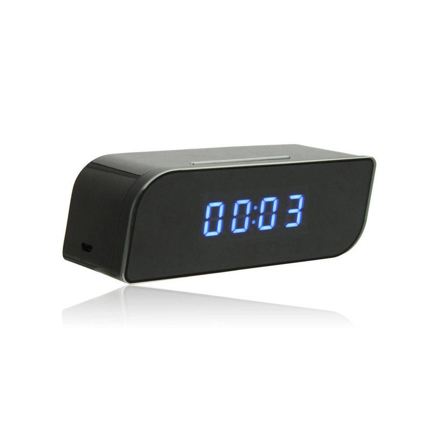 Caméra de surveillance WIFI cachée sous forme d'horloge réveil