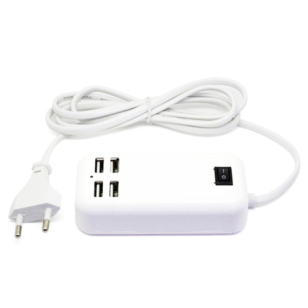 Chargeur de bureau avec 4 ports USB