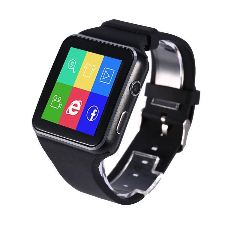 Montre intelligente connectée et téléphone, Smartwatch XR6 - Qualité Premium - Noir