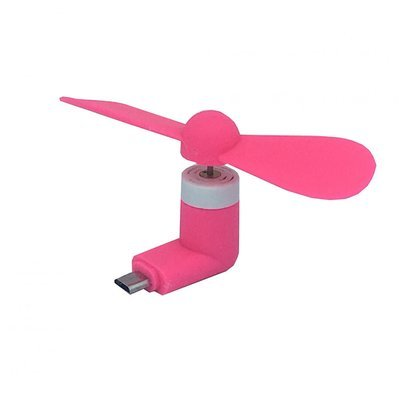 Mini ventilateur USB mobile - Rose