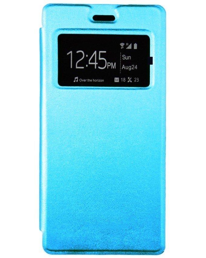 Flip cover pour infinix Note 2 - X600 - Bleu clair