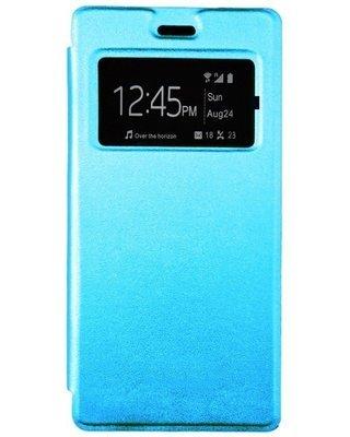Flip cover pour infinix Hot 3 X553 - Bleu clair