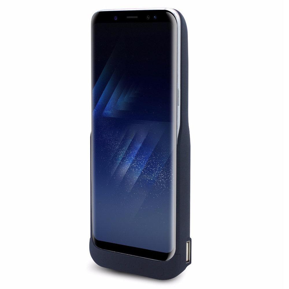 Coque batterie et chargeur rapide pour Samsung Galaxy S8 Plus