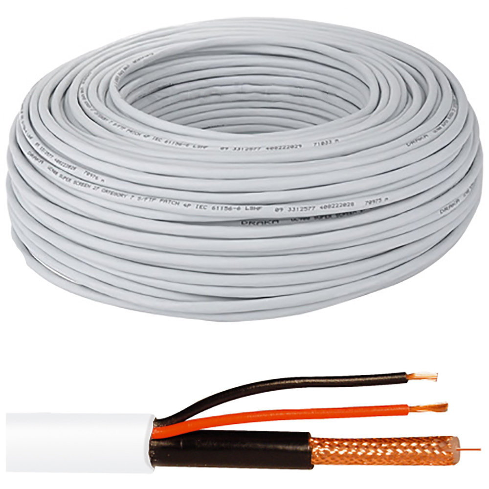 Câble coaxial RG-58 - 200 mètres