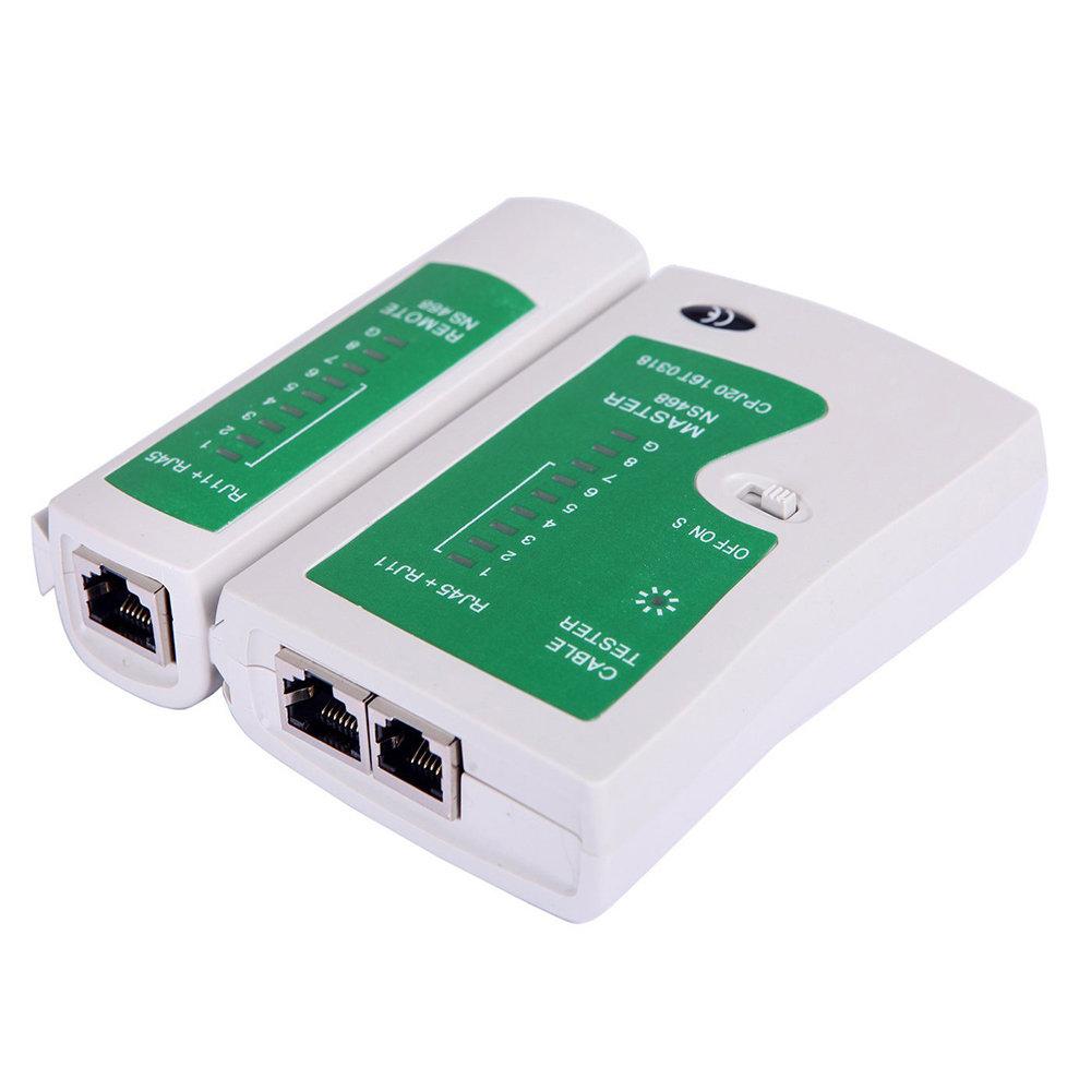 Testeur câbles réseau RJ45 et RJ11 Professionnel