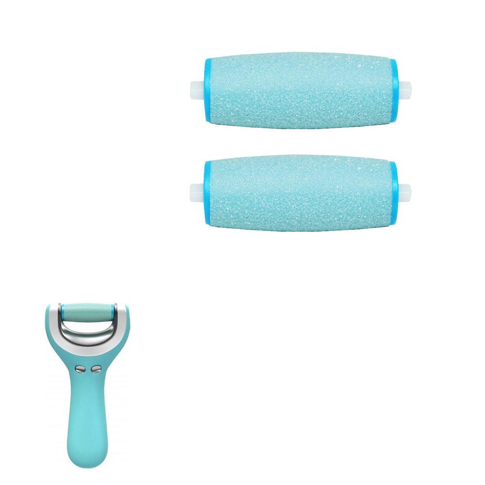 2 rouleaux de rechange pour SCHOLL Velvet wet & dry