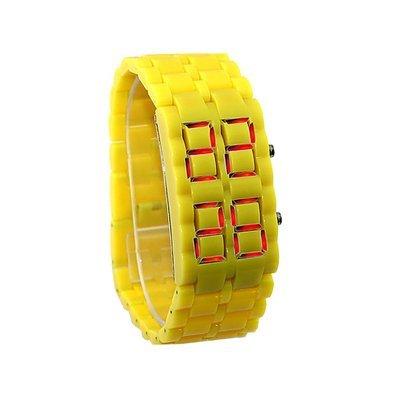 Montre bracelet Samourai à affichage LED pour Femme