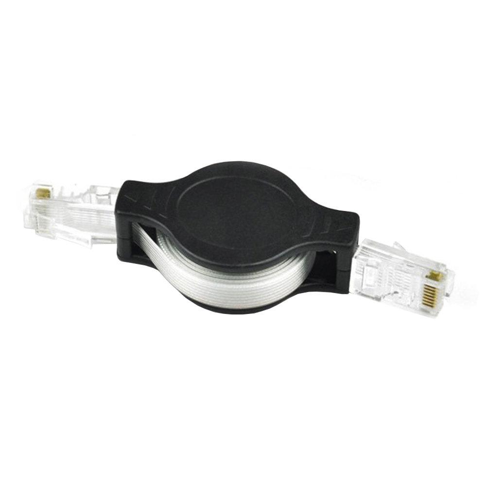 Câble réseau RJ45 Ethernet rétractable 1.5 Mètres