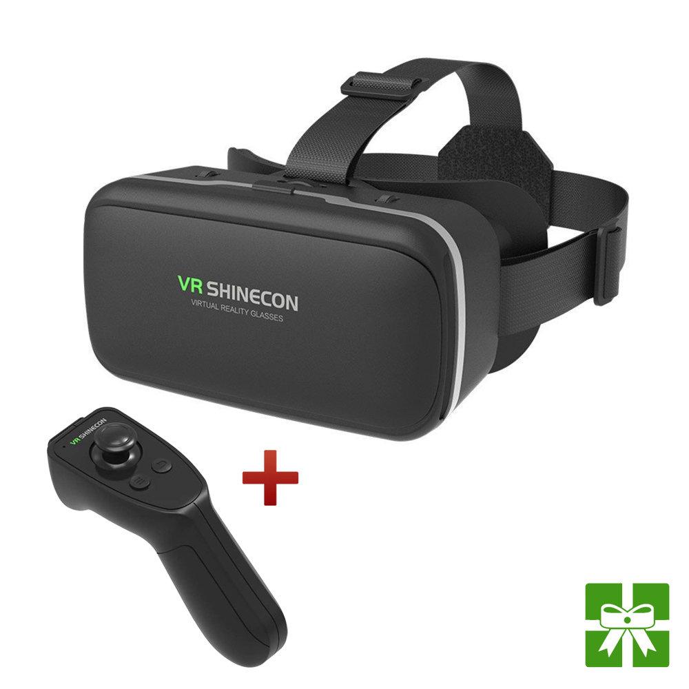 Casque VR G4C + Contrôleur Bluetooth RA8 Shinecon originaux