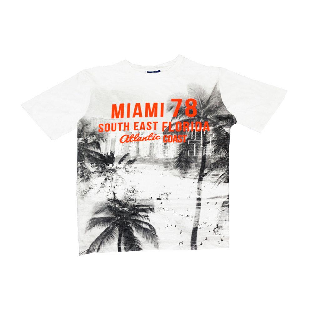 T-shirt 'Miami' pour garçon 'YIGGA'- Taille 11-12 ans