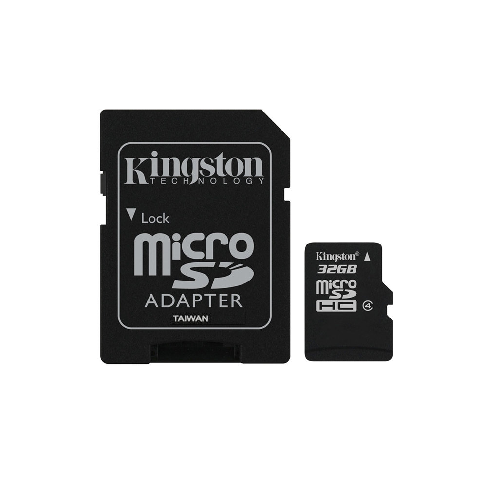 Carte mémoire Kingston Micro SDHC 32 Go Class 4