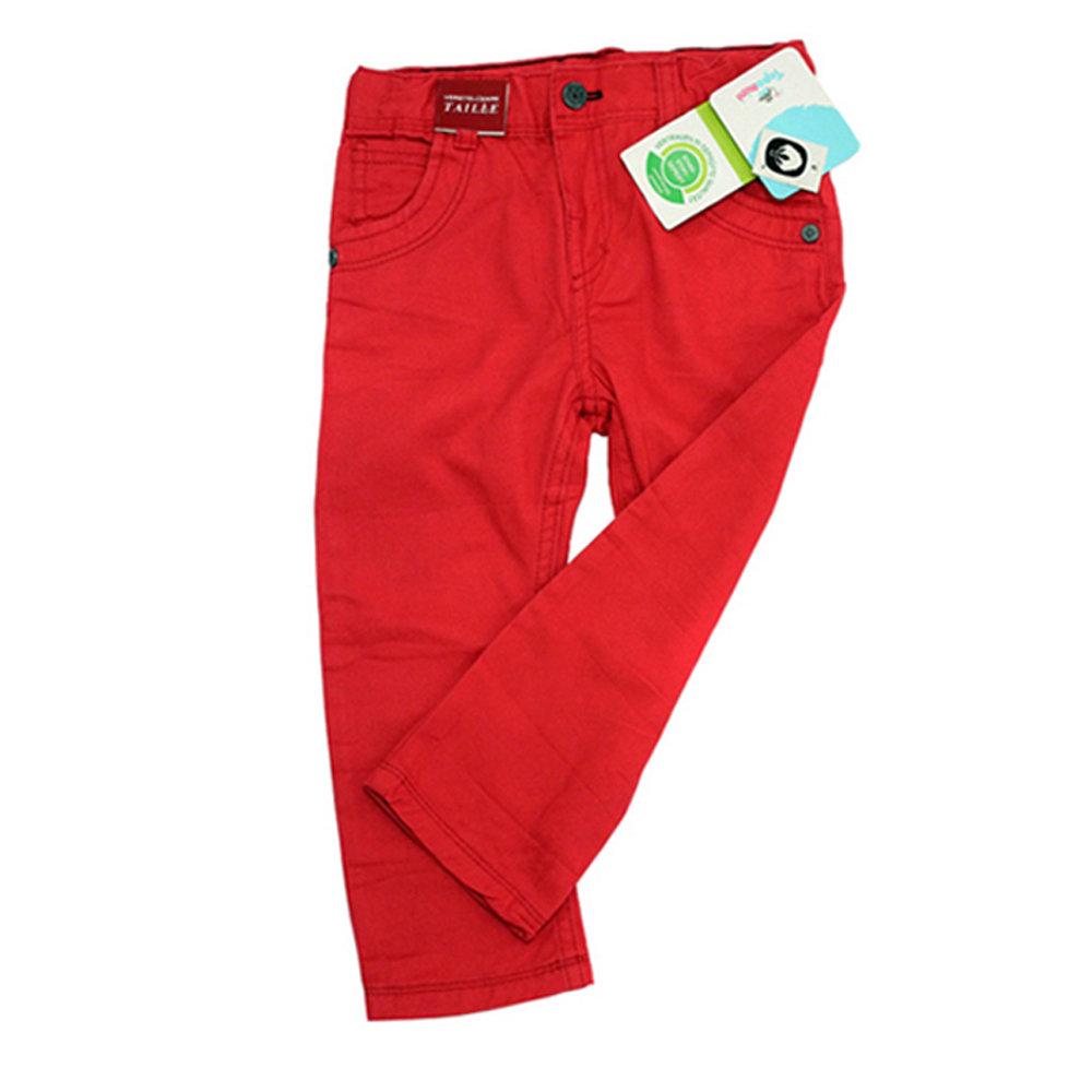 Pantalon en toile pour garçon 'Topomini'- Taille 9-12 mois