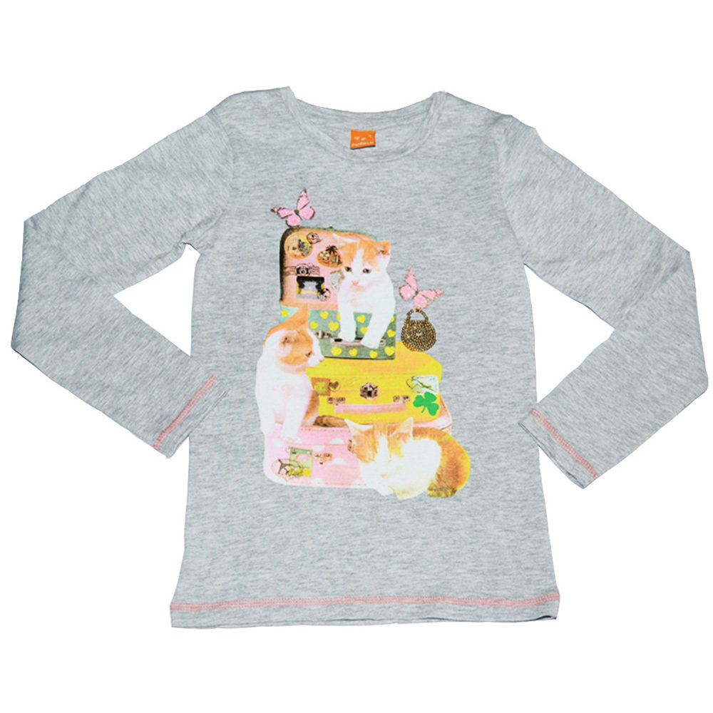 Pull 'Chat' pour fille 'PUSBLU' - Taille 9-10 ans