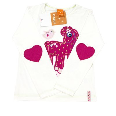 Pull 'Fantaisie' pour fille 'PUSBLU' - Taille 3-4 ans