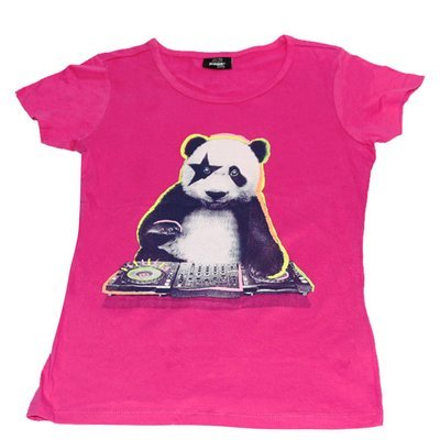 T-Shirt 'Panda' pour fille 'Page One Young'- Taille 12-14 ans