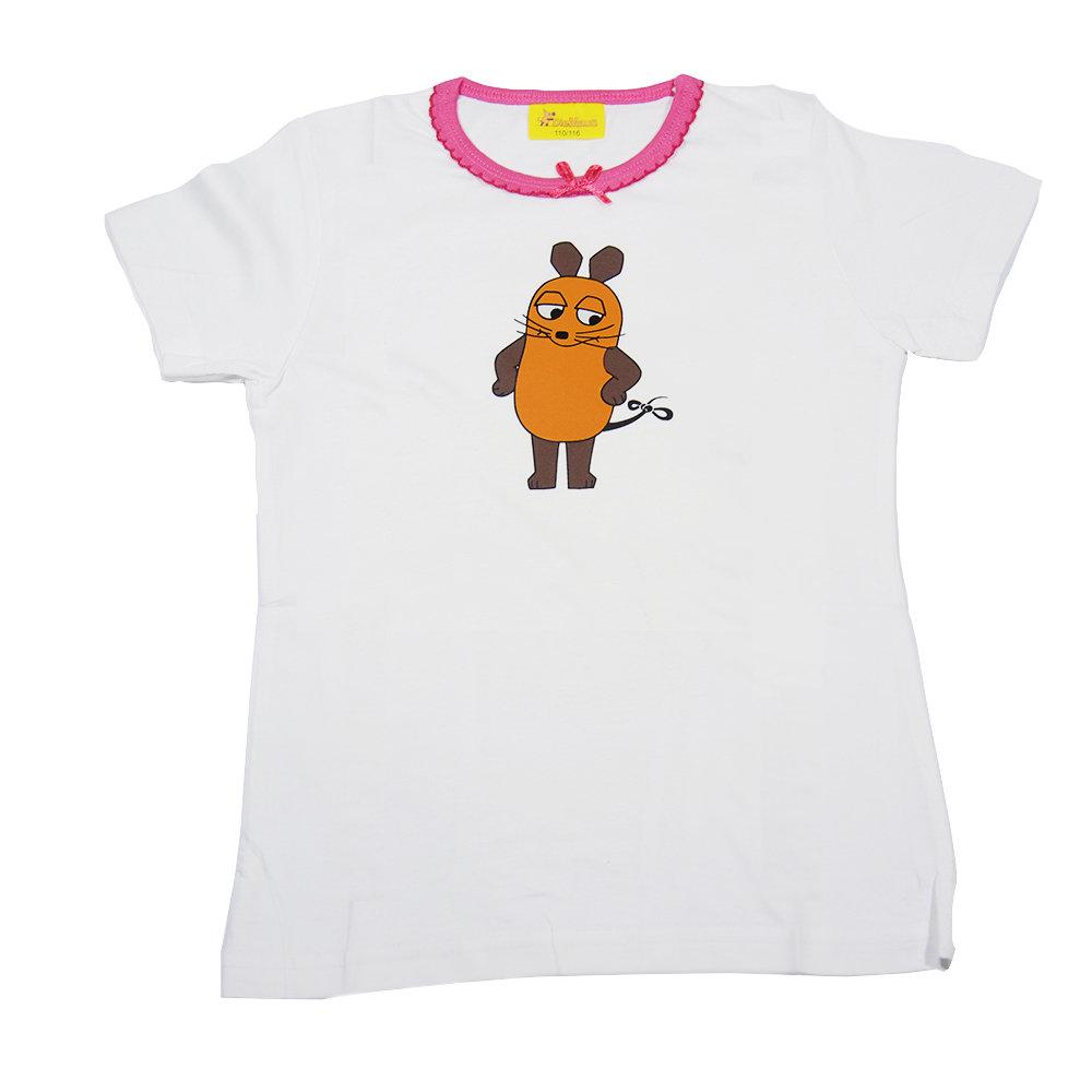 T-shirt 'DieMaus' pour fille - Taille 3-4 ans